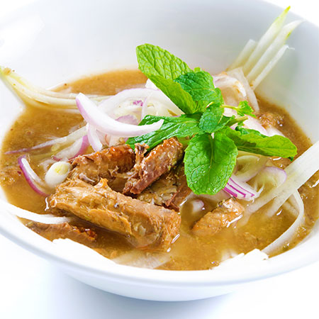 Poached-Duck-with-Noodles-Bok-Choy-and-Laksa
